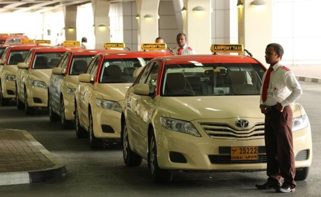 Такси в аэропорту Дубаи