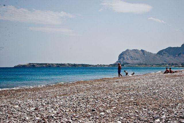 Пляж Афанду, Родос, Греция