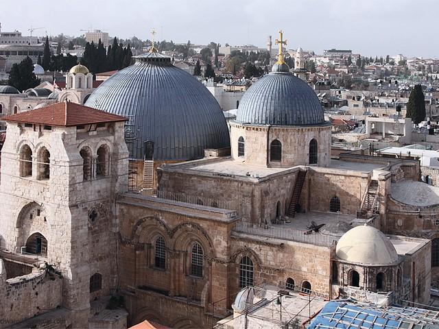 Храм Гроба Господня Иерусалим Израиль