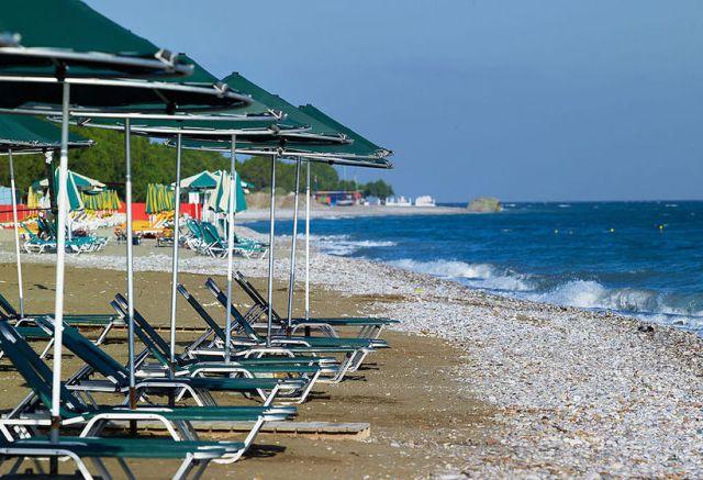 Пляж Ялисос, Родос, Греция