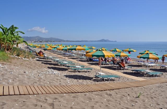 Пляж Колимбия, Родос, Греция