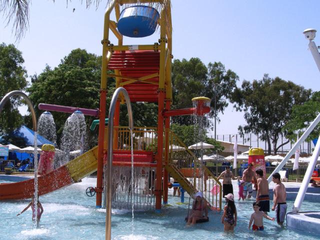 Аквапарк Шфаим Нетания Израиль