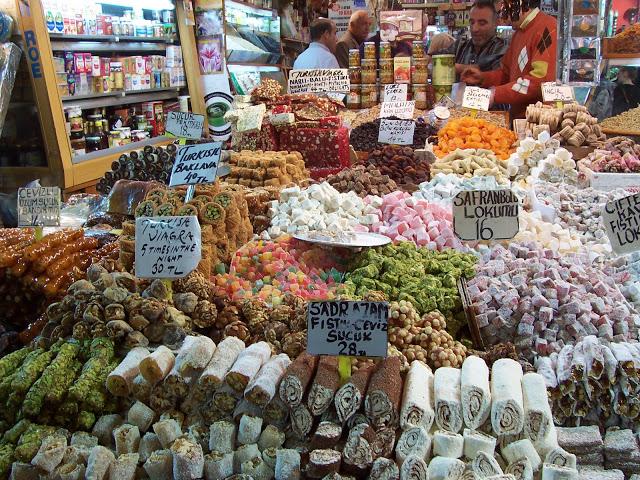 Цены на турецком базаре