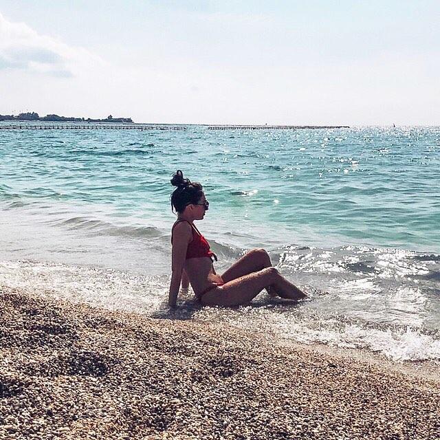 Пляж Коккино Лиманпки, Греция
