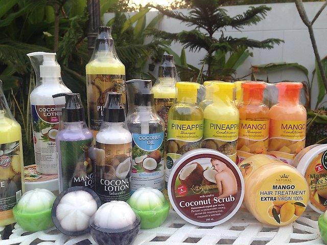 Тайская косметика на основе кокоса