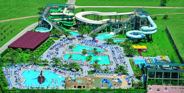 Аквапарк Ali Bey Club Park (Сиде, Турция)