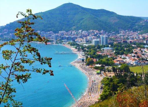 Бечичи - пляжный курорт в Черногории