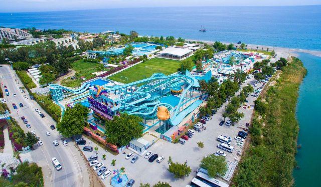 Аквапарк Dolu Su Park (Кемер, Турция)