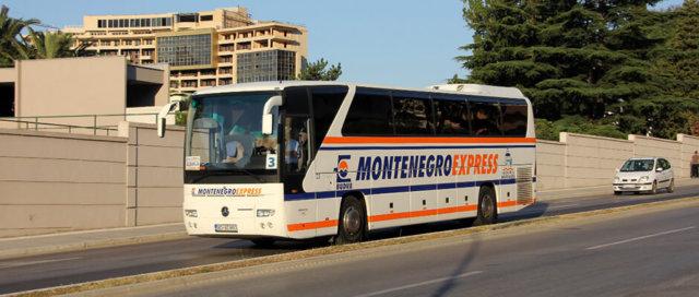 Автобусное сообщение в Черногории