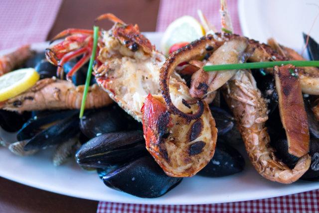 Морепродукты в черногорской кухне