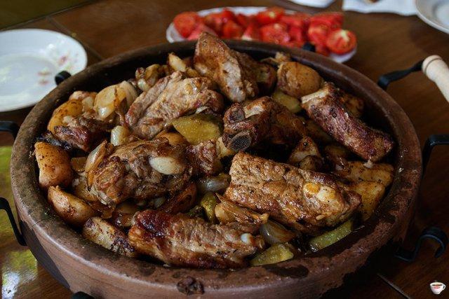 Мясо из-под сача