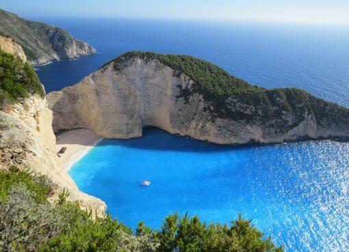 Пляжный отдых на греческих островах