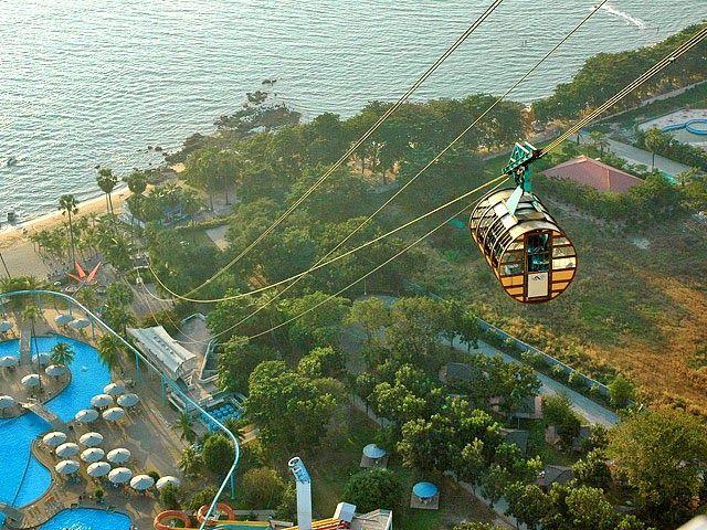 Подъем на Pattaya Park