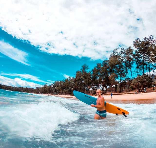 Серфинг в Кате