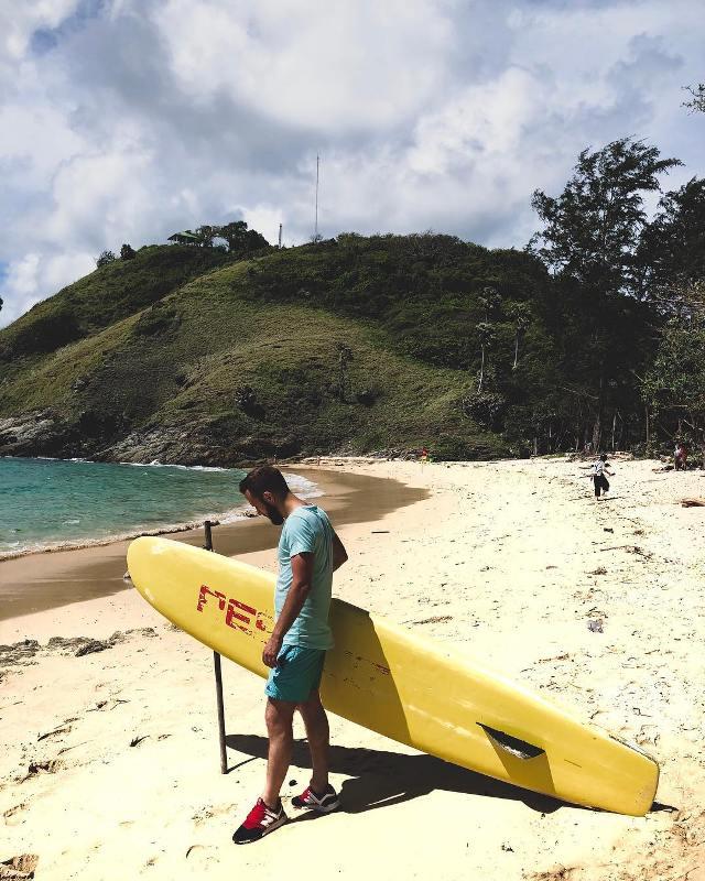 Серфинг на Патонге