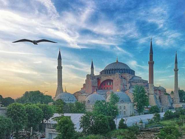 Рассвет над Стамбулом