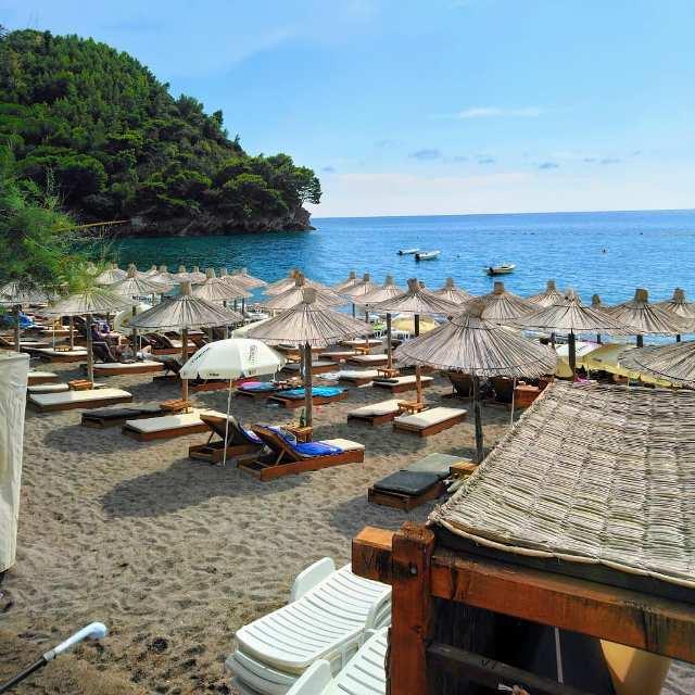Пляж Лучице Черногория
