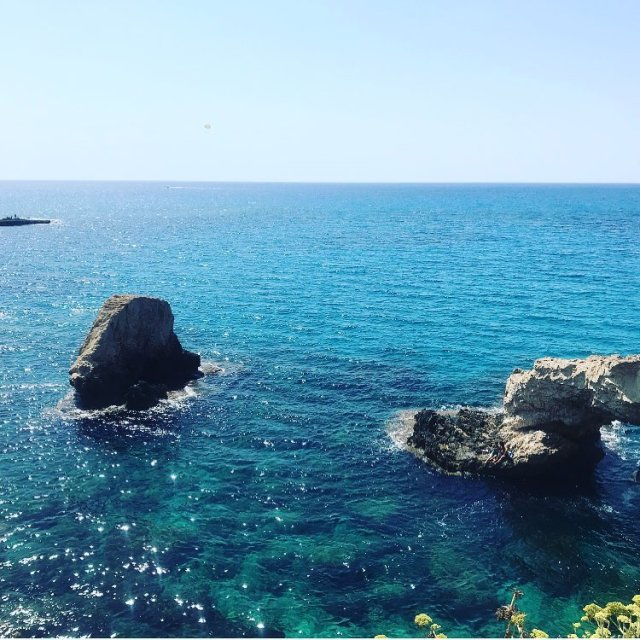 Голубая Лагуна (Кипр, Айя Напа)