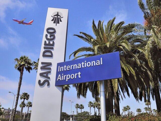 Аэропорт Сан-Диего в США