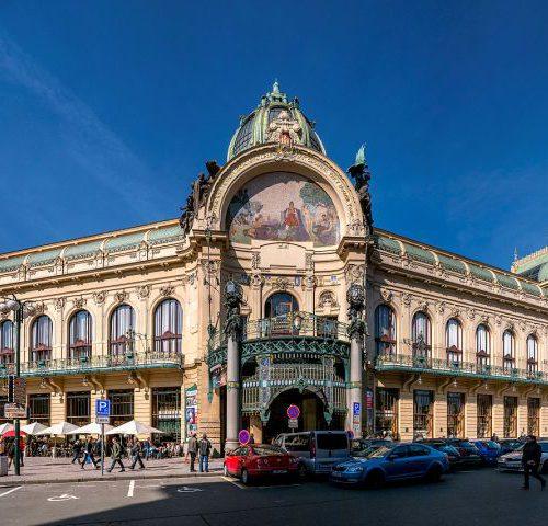 Муниципальный дом Municipal House в Праге