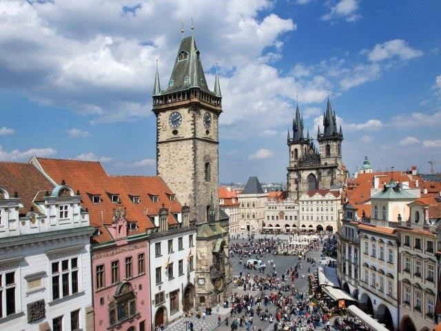 Староместская ратуша (Staroměstská radnice) в Праге Чехия