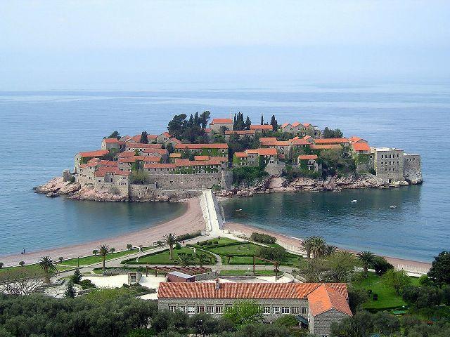 Остров Святой Стефан Черногория