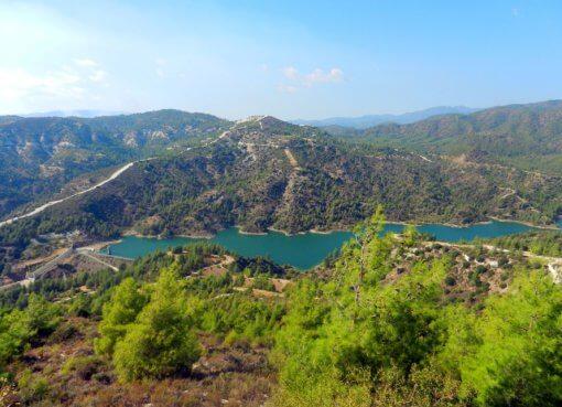 Горы Troodos на Кипре