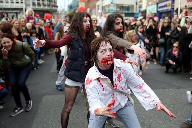 Хэллоуин в Дублине