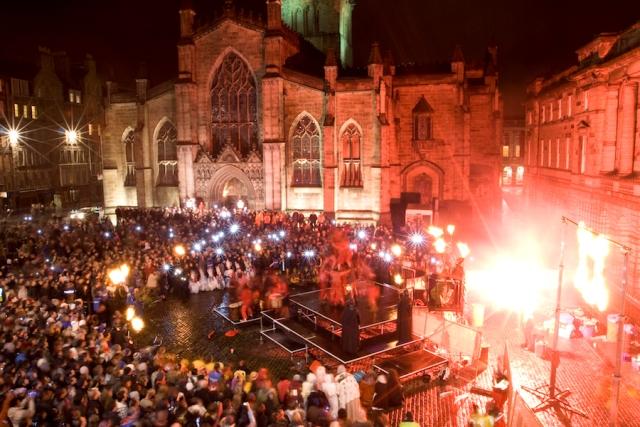 Кельтский фестиваль в Эдинбурге
