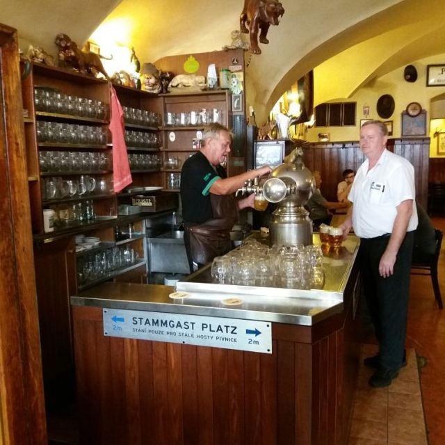 Пивная У Золотого Тигра в Праге