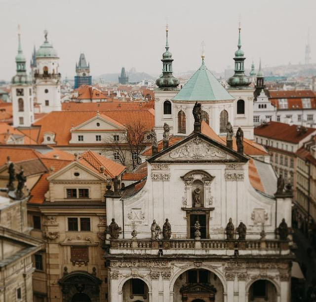 Библиотека Клементинум в Праге