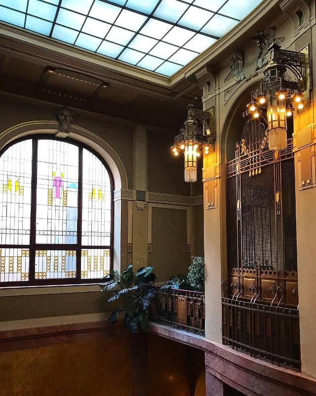 Лифт в муниципальном доме