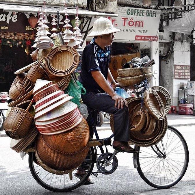 Соломенные шляпы во Вьетнаме