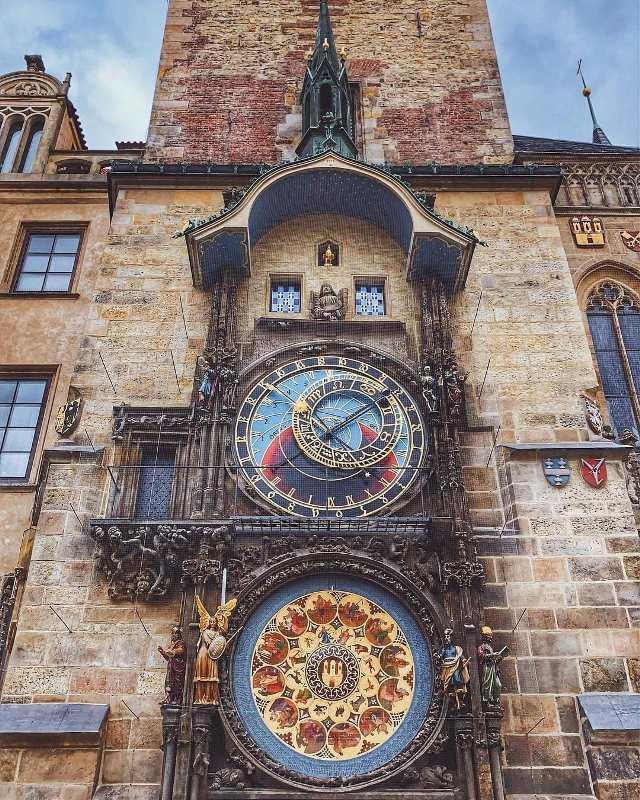 Куранты Орлой в Праге