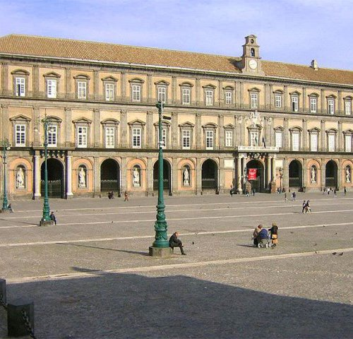 Palazzo Reale di Napoli в Неаполе