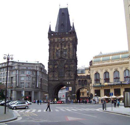 Пороховая башня (Prašná brána) Прага