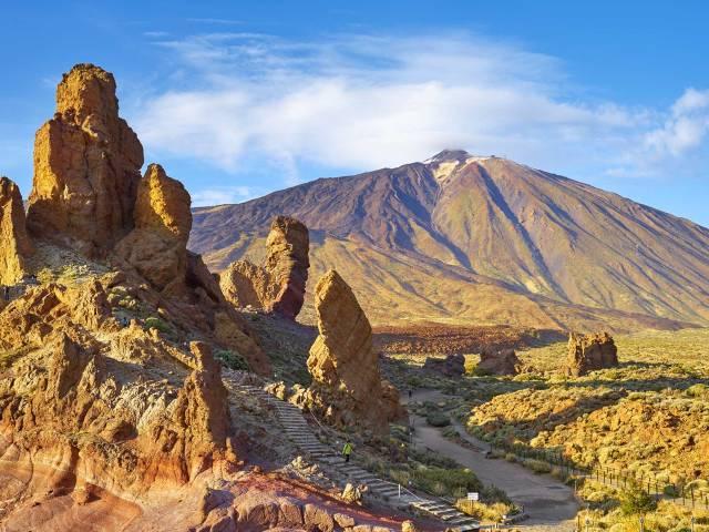 Вулкан Тейде на острове Тенерифе