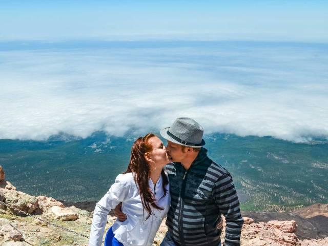 Романтика на вершине вулкана Тейде