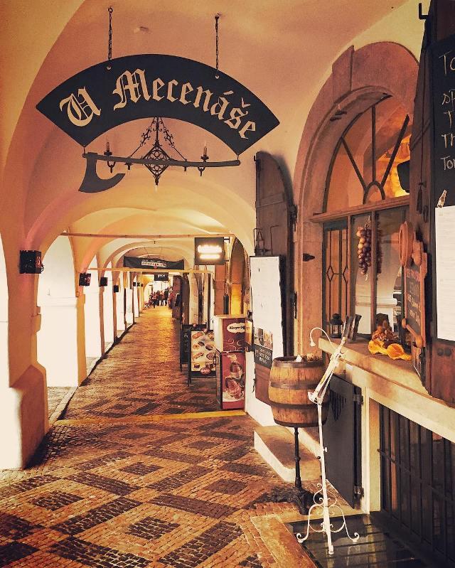 U Mecenase в Праге