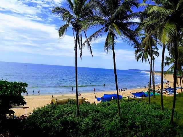 Пляж Кандолим в Гоа