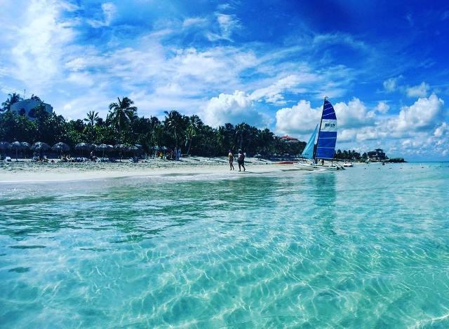 Пляж в Варадеро