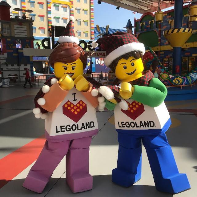 Тематический парк LEGOLAND в Токио (Япония)