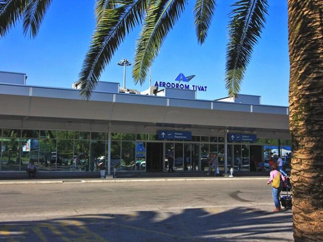 Международный аэропорт в Тивате (Черногория)