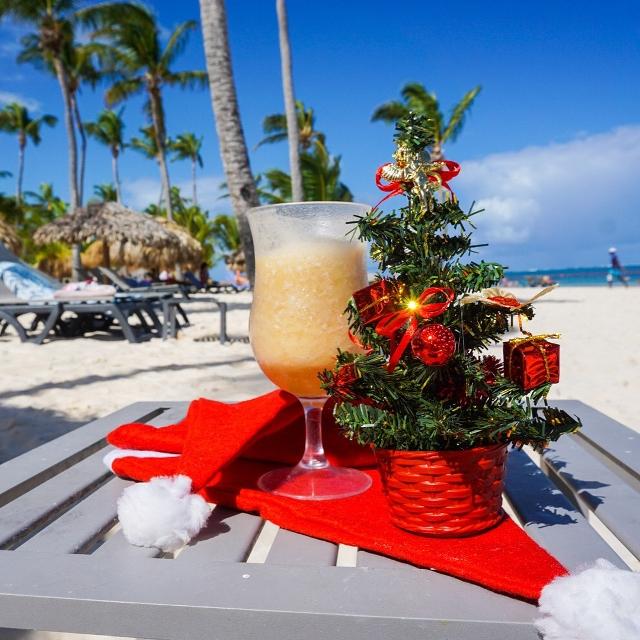 Новый год на берегу Атлантического океана