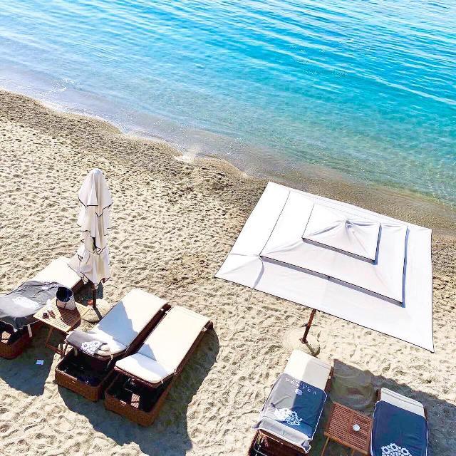 Пляж комплекса Дюклей Гарден