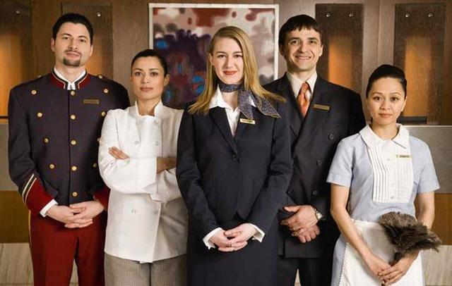 Работа в отеле