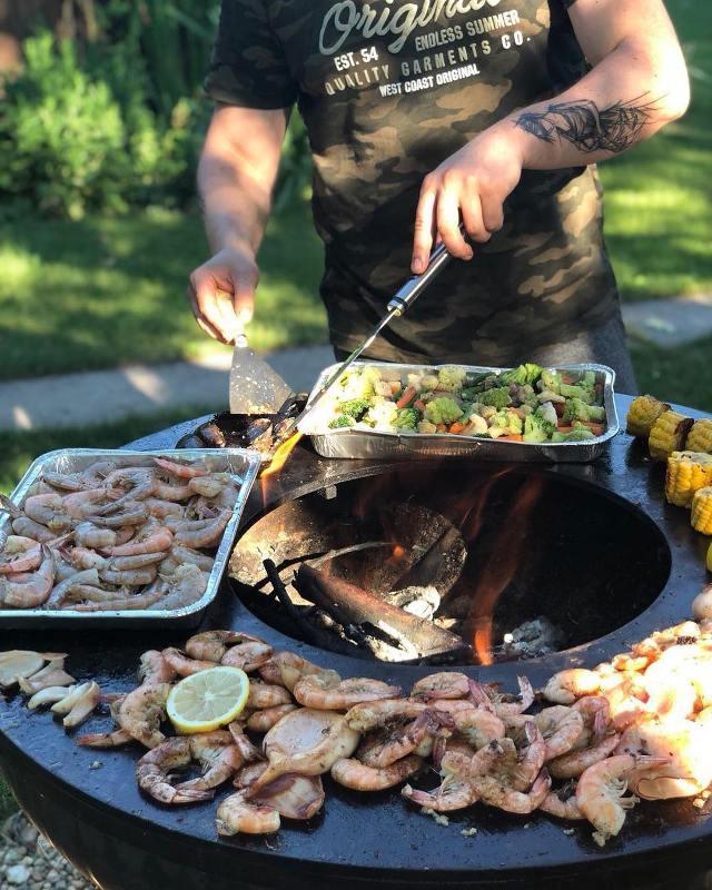 Греки любят свежайшие морепродукты приготовленные на открытом огне