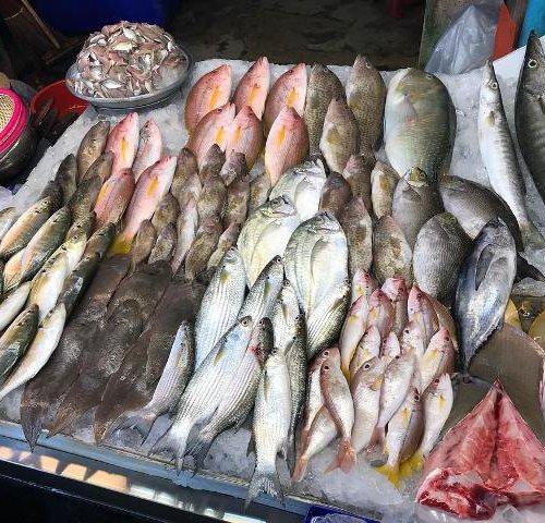 Рынок морепродуктов Наклуа в Паттайе