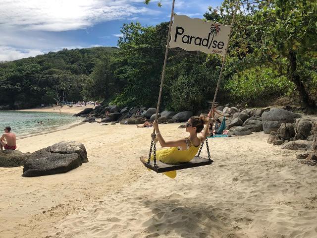 Пляж Paradise Beach рядом с Патонгом