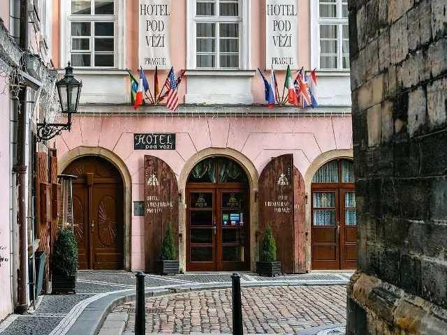 Отель Pod Vezi в центре Праги